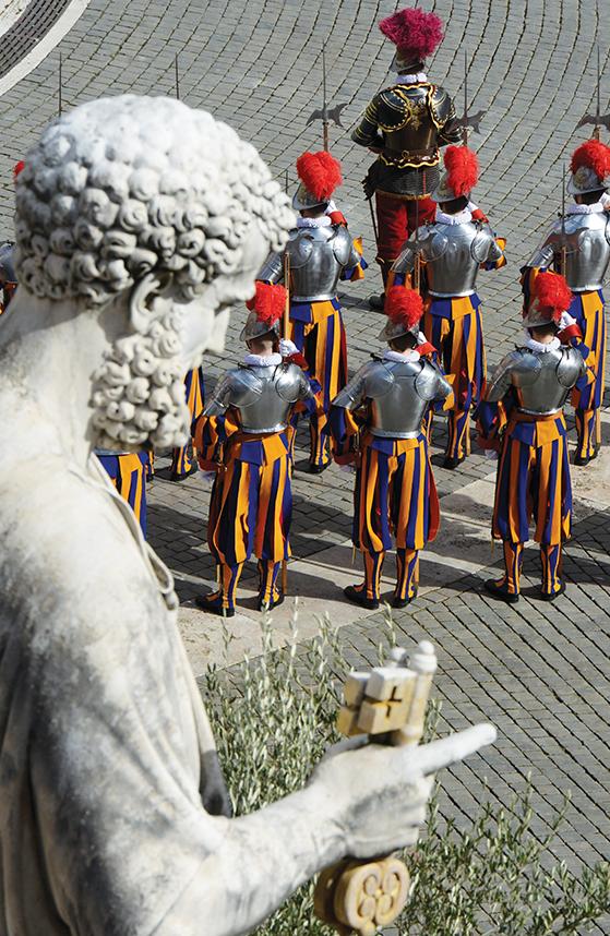 La Garde Suisse Pontificale au cours des siècles