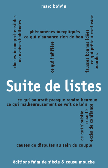 Suite de listes - eBook
